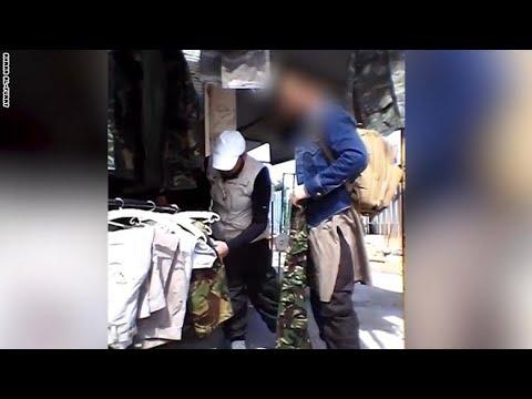 فيديو بكاميرا سرية من قلب الرقة
