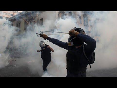 Chile: Demonstrationen und Straßenschlachten in Santiago aus Protest gegen gie Regierung