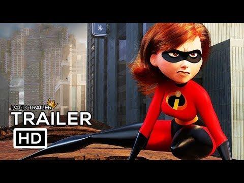 INCREDIBLES 2 Official Trailer #2 (2018) Disney Animated Superhero Movie HD