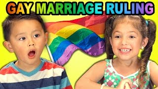 Video Kids React to Gay Marriage Ruling MP3, 3GP, MP4, WEBM, AVI, FLV Desember 2017