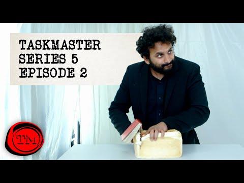 Taskmaster - Series 5, Episode 2   Full Episode   'The Leprechaun or The Lesbian'