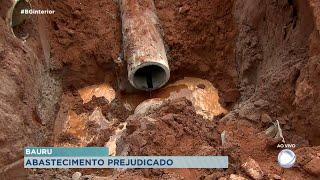 Abastecimento de água é  prejudicado em duas regiões de Bauru