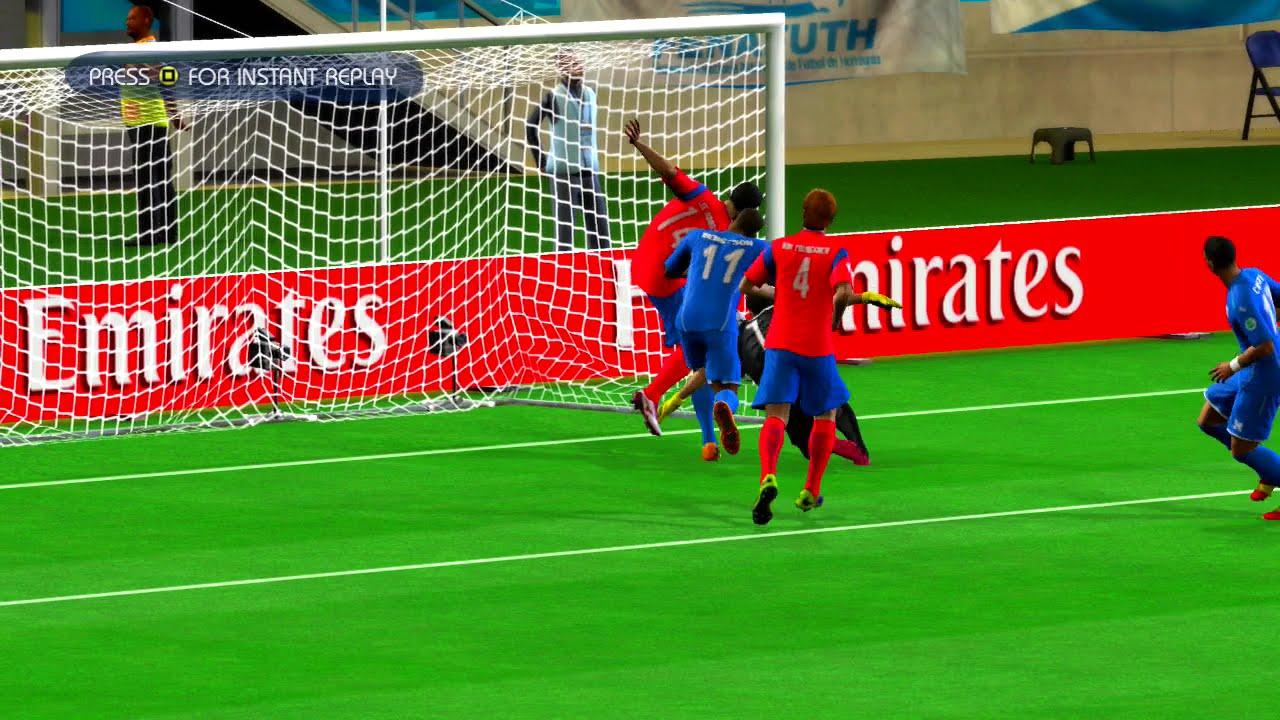 Korea Republic vs Honduras Quarterfinal Game Pretend Olympic Games Using 2014 FIFA World Cup Brazil