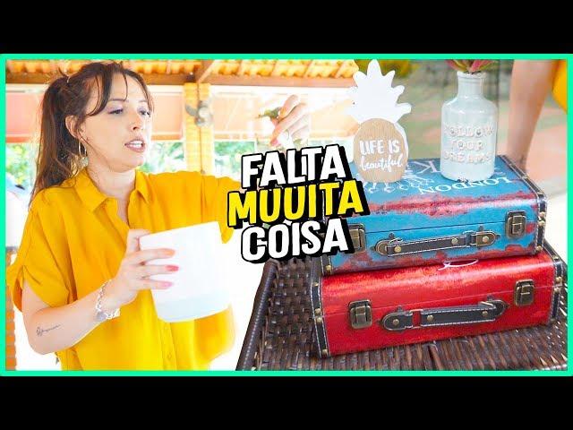 DIÁRIO DA REFORMA#3 - DECORANDO A SALA - Taciele Alcolea