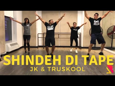 JK & Truskool - Shindeh Di Tape | Bhangra Dance Steps & Tutorials | Broadway Dance Center