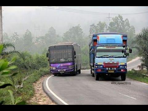 Download Video Aksi Bus Sumatra Lintas Timur