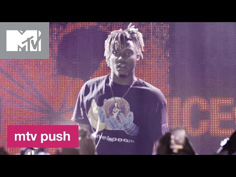 Juice WRLD Performs 'Black & White' (Live Performance) | MTV Push