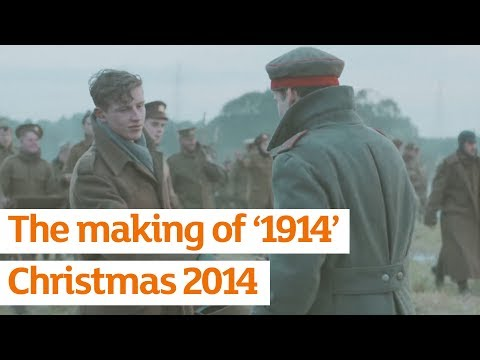 Our Christmas TV ad was inspired by an extraordinary event of the First World War: the Christmas Truce of 1914.   This year marks the centenary of the outbreak of WW1, and it also marks the 20th anniversary of Sainsbury's partnership with The Royal...