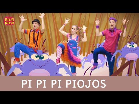Pica-Pica - Pi Pi Pi Piojos (Videoclip oficial)
