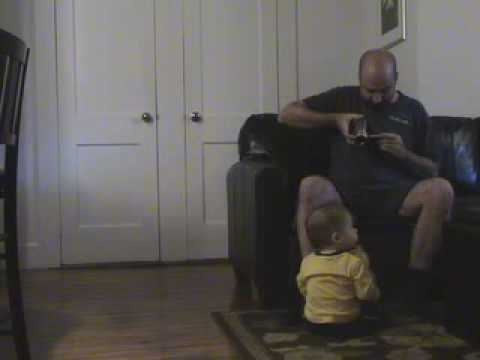 Super Bowl Commercial: One year old gets his dad a beer