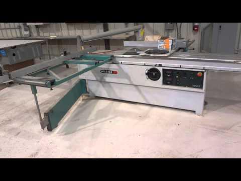 Royston LLC Auction - Lot 334 - Holz Her Model 1243 Sliding Table Panel Saw