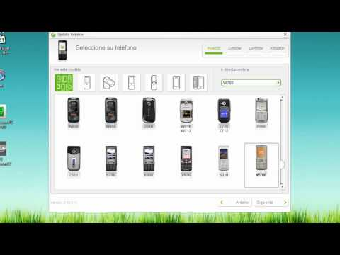 how to sony ericsson software update