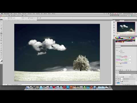 Efekt zdj�� IR w Photoshopie - poradnik wideo