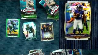 2014 topps chrome football box break