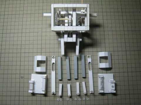 Tiny Robot Made Of Paper Actually Walks