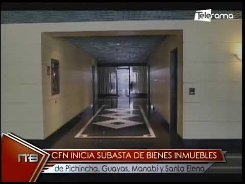 CFN subasta de bienes inmuebles de Pichincha, Guayas, Manabí y Santa Elena