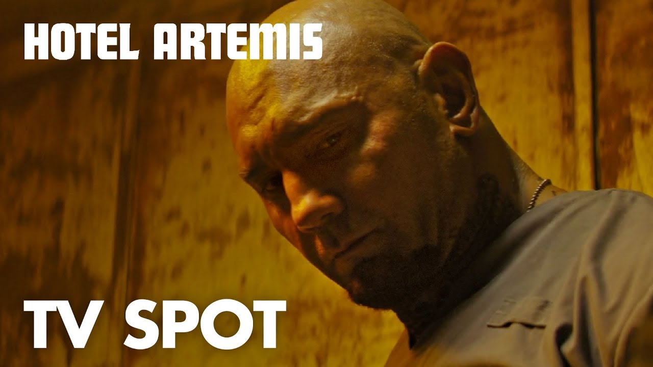 The Visiting Hours are Never in 'Hotel Artemis' (TV Spot) run by Jodie Foster with Jeff Goldblum & Sterling K. Brown & More