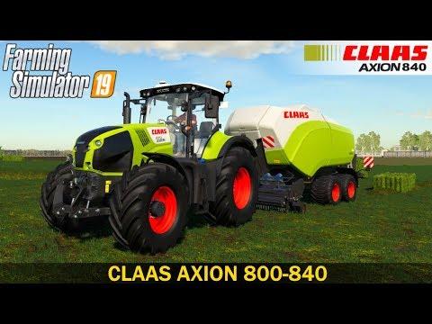 CLAAS AXION 800-840 v0.9.9