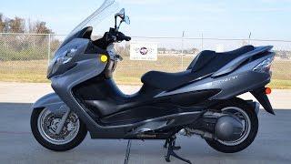 5. $2,799:  For Sale 2007 Suzuki Burgman 400
