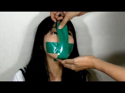 被膠帶貼住嘴巴真的無法求救嗎?網友親身做實驗告訴你