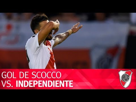 Gol de Ignacio Scocco vs. Independiente
