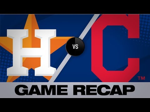 Video: Cole tosses 7 frames to lead Astros to win | Astros-Indians Game Highlights 8/1/19