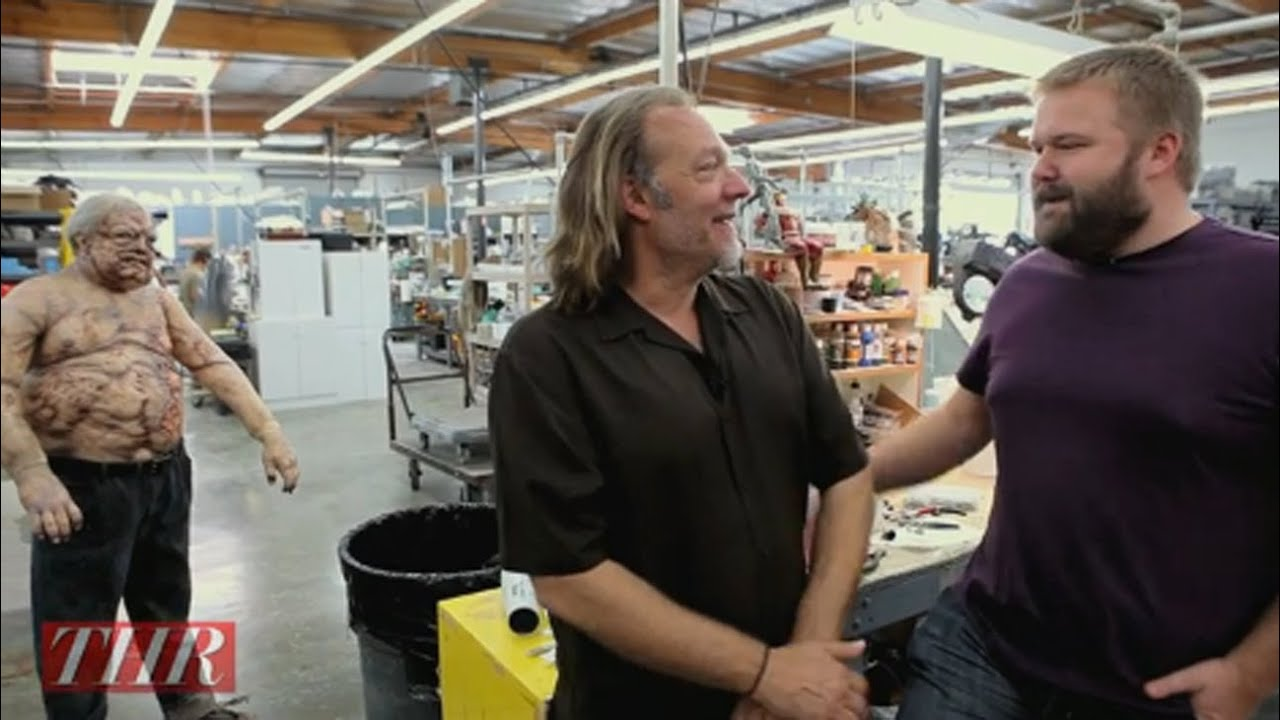 THR Visits the Studio of Greg Nicotero of