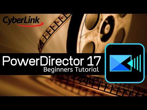 CyberLink PowerDirector 17 Tutorial - Designed for Beginners