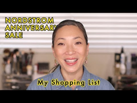 Nordstrom Anniversary Sale Shopping List / 2018