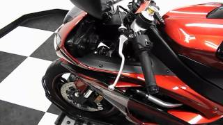 10. 2011 Yamaha YZF R6 Raven Red -- used motorcycles  for sale-- Eden Prairie, MN