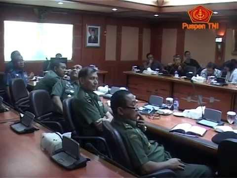 Panglima TNI Terima TTRM Gunung Padang