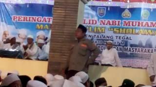 peringatan maulid nabi bersama para habaib dimeriahkan oleh #Az zahir# Video