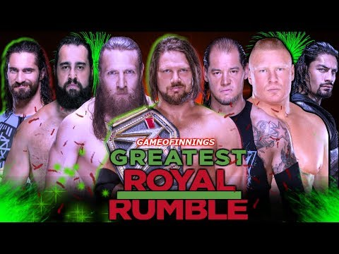 Greatest Royal Rumble 2018 Highlights Result Prediction ! Winners Revealed Saudi Event
