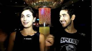 Actors Vinay Virmani and Camilla Belle speak about their upcoming film 'Speedy Singhs' in this bollywoodhungama.com interview. The duo shares their experienc...