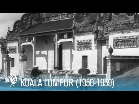 Kuala Lumpur: Architecture of Malaysia's Capital City (1950-1959)   British Pathé