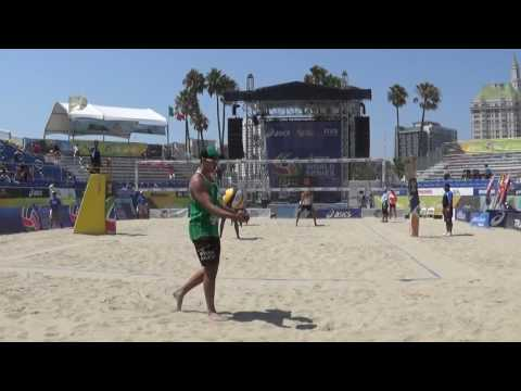 FIVB 2016:  Mayer/Doherty (USA) Vs. George/Thiago (BRA) 8/23/2016