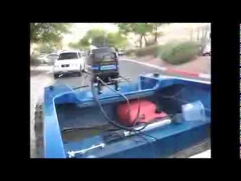 1982 40 hp Mercury outboard (brush repair in starter)