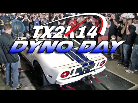 dyno - TX2K15 - March 19-22 - Full Details - http://www.tx2k.com Presented by http://www.mvpmotorsports.com TX2K14's Dyno Day Shootout at Hennessey Performance brought over 80 cars out to strap down ...