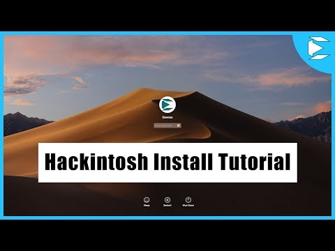 Hackintosh Install Mojave Tutorial