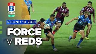 Western Force v Reds Rd.10 2021 Super rugby AU video highlights