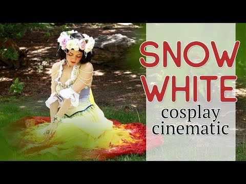 Cosplay Cinematic — Art Nouveau Snow White