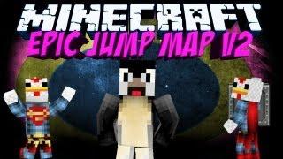 Minecraft: Epic Jump Map V2 - Part 1