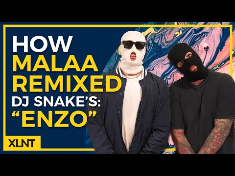 "How To - Malaa ""Enzo"" Remix of DJ Snake Drop Remake / Serum Tutorial [FREE DOWNLOAD]"