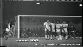 Vitória vascaína com gols de Paulinho e Edinho (contra). Imagens do inesquecível canal 100.