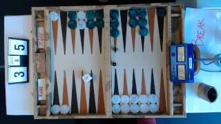 Swedish Open Backgammon 2013 Rune / Kåre Final