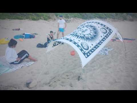Gazebo tenda per spiaggia e prato. Beach sun shade sunshade