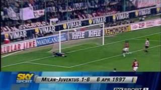 Video Milan 1-6 Juventus - Campionato 1996/97 MP3, 3GP, MP4, WEBM, AVI, FLV Agustus 2017