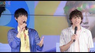 中川大志と小関裕太が即興芝居! 「A3!」新CM発表会