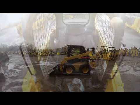 CATERPILLAR スキッド・ステア・ローダ 242D equipment video JxWzzcM_GwU