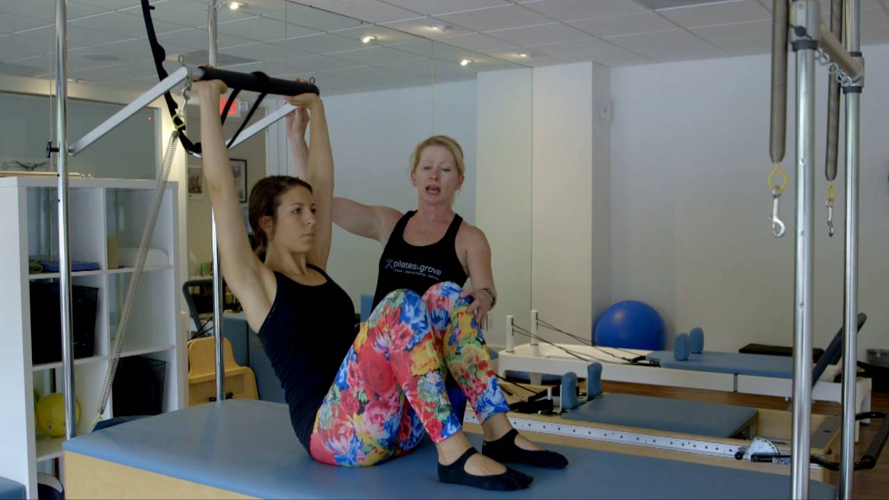 Pilates Exercises: Roll Up - Sprung from Below